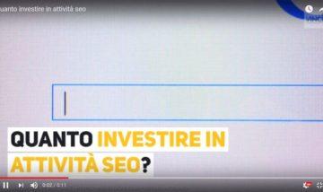 Quanto Investire in Attività Seo?